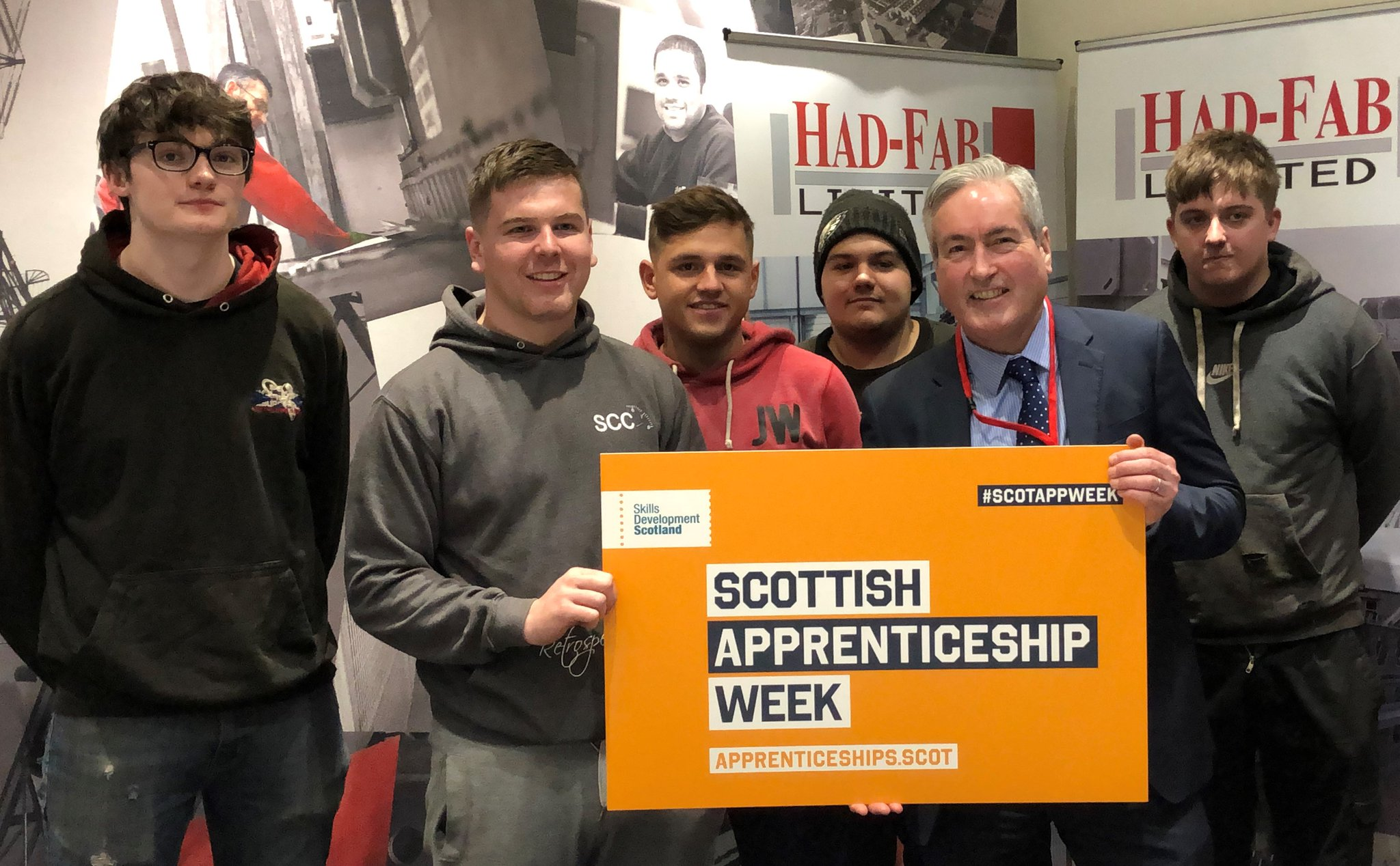 Scottish Apprenticeship Week at Had-Fab