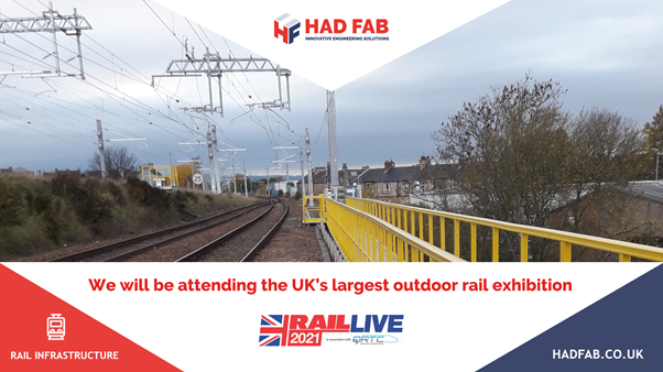 Had Fab is attending Rail Live 2021